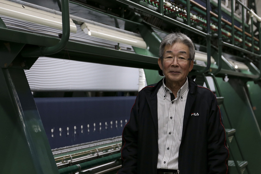 西日本で唯一のレース職人 丸山刺繍