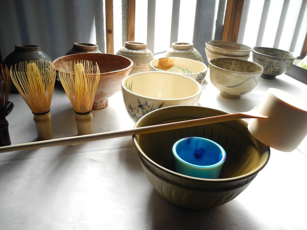 新緑茶会 – 織物の家の人びと